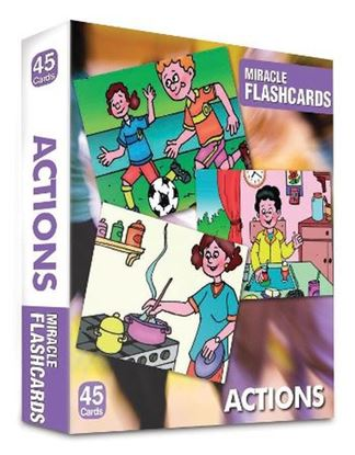 Miracle Flashcards Actıons