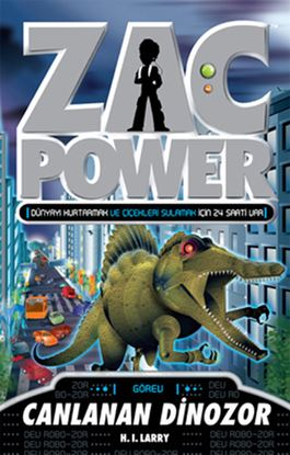 Zac Power 24 Canlanan Dinozor