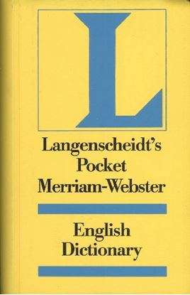 Langenscheıdts Pocket Merrıam Webster
